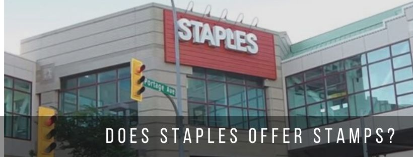 Does Staples Sell Stamps? Nearest Stores & Pricing Details