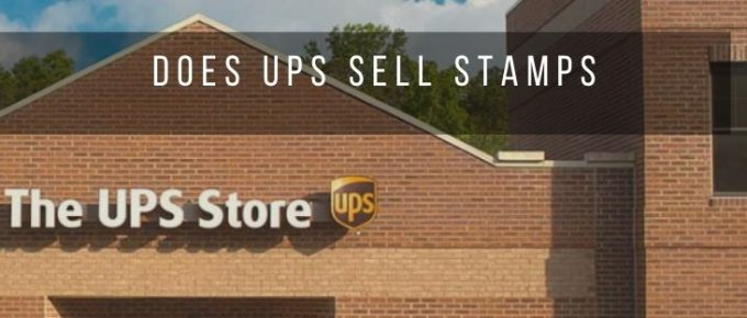 Get stamps from the UPS Store