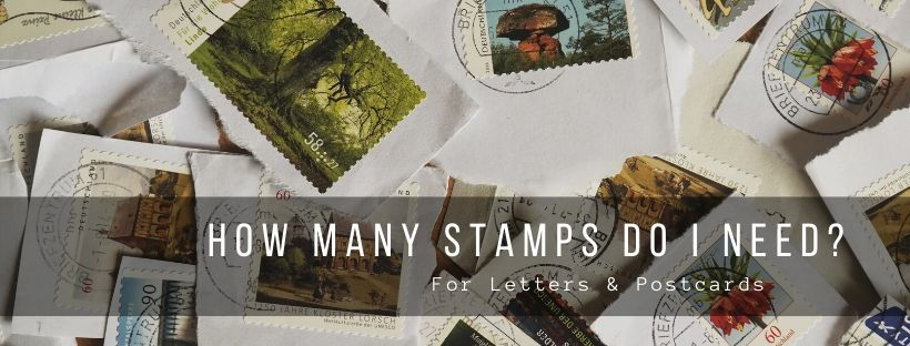 How many Stamps Do I Need for Letters, Postcards & other stuff?